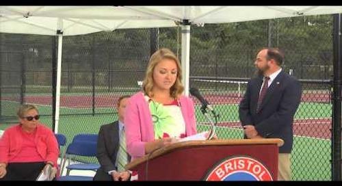 Ida Stone Jones Tennis Center - First Serve Celebration