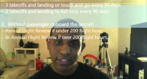 Private Pilot Oral Task A Series 1