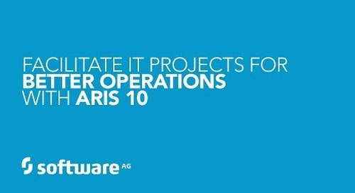 How to Facilitate IT Projects for Better Operations with ARIS 10