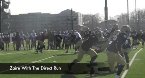 Notre Dame Practice Highlights (Apr. 9, 2014)