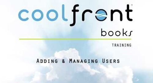Coolfront Books - Users