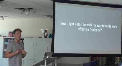 Delivering Effective Feedback – Jared Friese