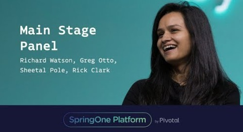 Watson, Otto, Pole, Clark - Customer Panel at SpringOne Platform 2017