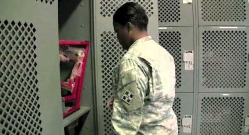 War Bag Storage Lockers | Military Readiness Cabinets 1-800-803-1083