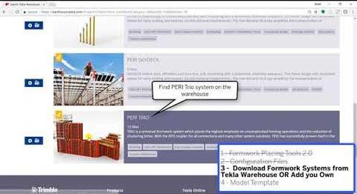Download and Setup Formwork Placing Tools 2017i 1