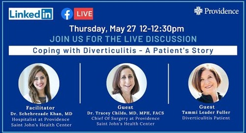 Coping with Diverticulitis - A Patient's Story