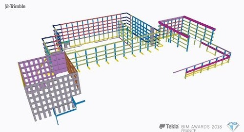 Tekla France BIM Awards 2018 - GUILLERM : Rubix