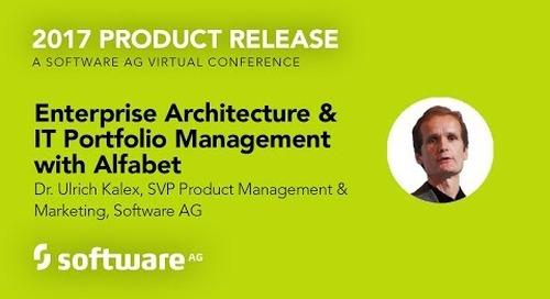 Enterprise Architecture and IT Portfolio Management with Alfabet