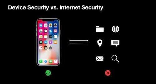 Secure Mobile Users Anywhere - The Best Protection for iOS Devices