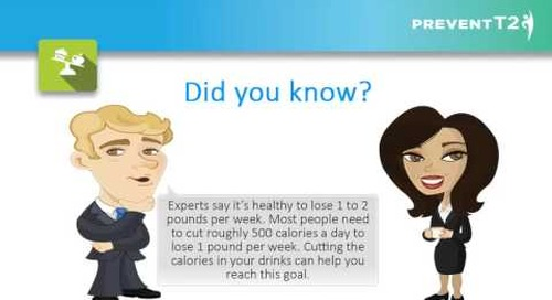 Providence Health Coaching Program | Lesson 7: Burn More Calories than You Take In