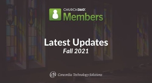 Church360° Members | Latest Updates