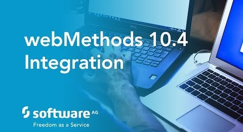 Webinar: webMethods 10.4: Announcing webMethods.io Integration (iPaaS)