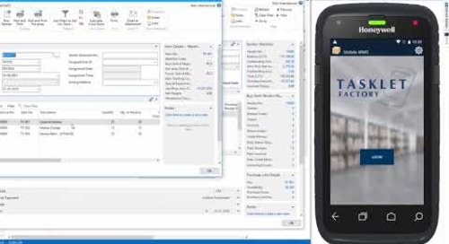Mobile WMS for Dynamics NAV from Tasklet Factory and Western Computer
