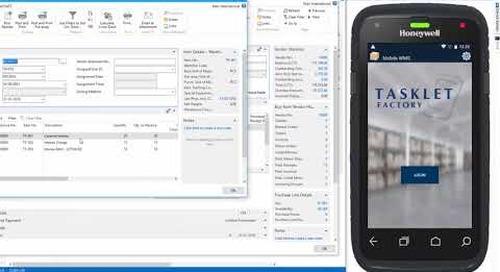 Tasklet Factory |  Mobile WMS | Dynamics NAV | Western Computer