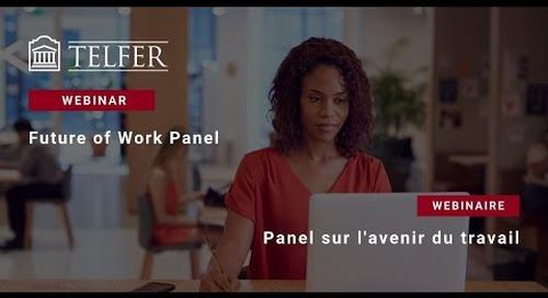 Panel de discussion sur l'avenir du travail
