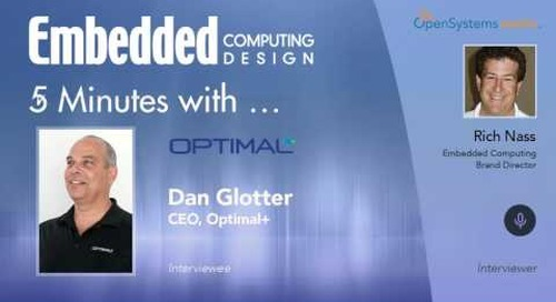Five Minutes With…Dan Glotter, CEO, Optimal+