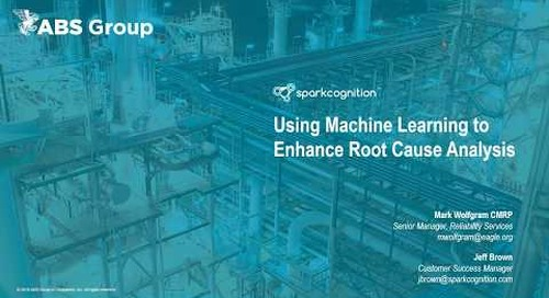 Webinar - How Machine Learning Can Improve Root Cause Analysis