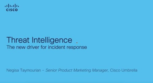 Threat intelligence: The New Driver for Incident Response