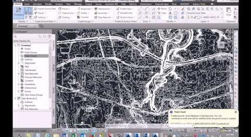 Site Development Workflow with Autodesk Infrastructure Design Suite