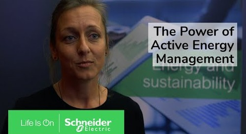 The Power of Active Energy Management   Schneider Electric
