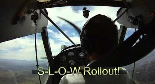 Chandelle Flight Maneuver