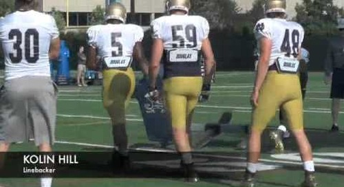 Notre Dame Practice Highlights — Aug. 9, 2014