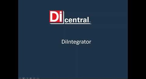 On Call Webinar:  Get to know DiCentral's DiIntegrator