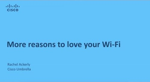 More Reasons to Love your WiFi