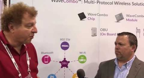 Integrating 802.11p and much more wireless for V2X at TU-Automotive 2016