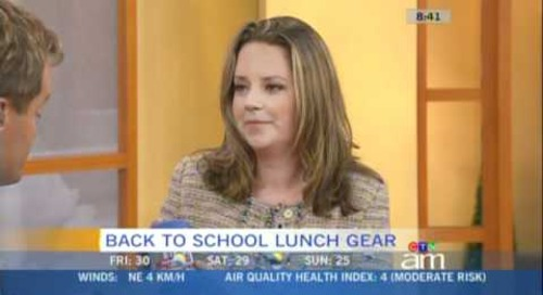 Canada AM Feature on Lunchtime Products for Kids
