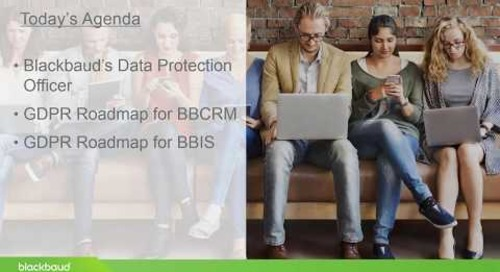 Blackbaud CRM Roadmap