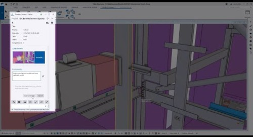 Tekla Structures 2020 to Trimble Connect Collaboration Overview