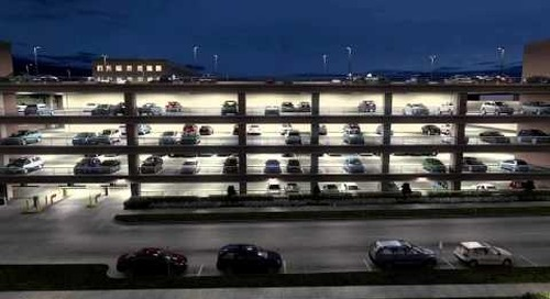 Lithonia Lighting Parking Garage