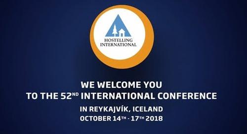 The 52nd Hostelling International Conference in Reykjavik Iceland 2018