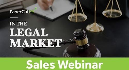 Client Billing & PaperCut MF in the Legal Market