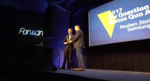Breakthrough Awards Presented at Forward 2017 by Skyword