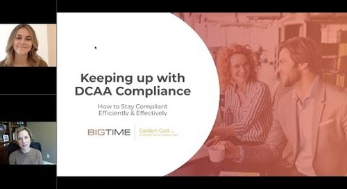 Keeping up with DCAA Time Tracking: How to Stay Compliant Efficiently