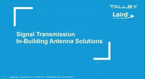 Webinar: Laird | Signal Transmission DAS Antenna Solutions