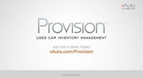 vAuto Provision Multi-Trim Comparison Review