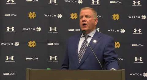 Brian Kelly Michigan Press Conference