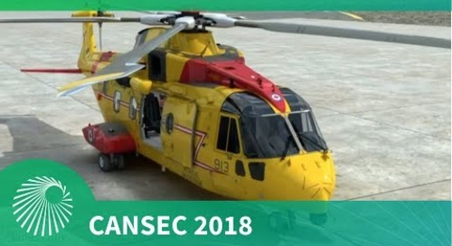 CANSEC 2018: AW101/CH-149 Leonardo Cormorant  Mid-Life Update
