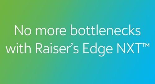 COVID-19: No More Bottlenecks with Raiser's Edge NXT