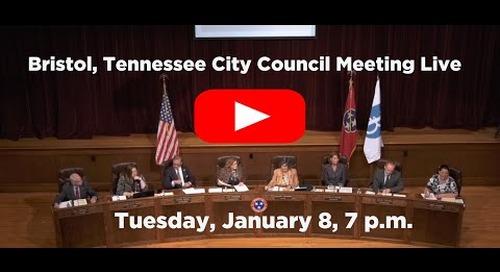 City Council Meeting 1-8-2019