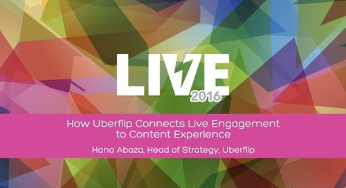 How Uberflip Connects Live Engagement to Content Experience with Head of Strategy Hana Abaza