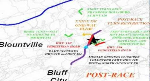 Race Traffic Plan - August 2012
