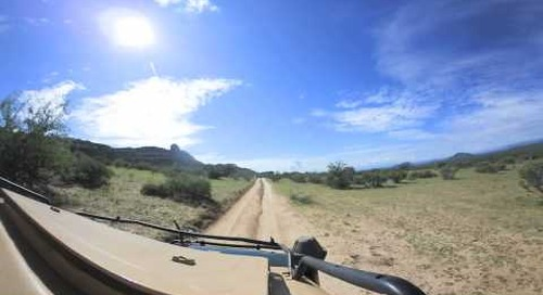 360 degree - Heading out for morning game drive in Samburu