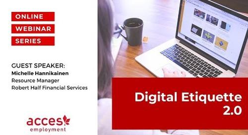 Digital Etiquette 2.0