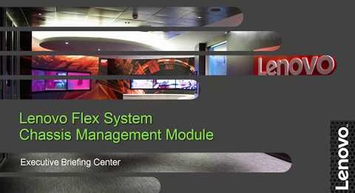 Lenovo Flex System Chassis Management Module