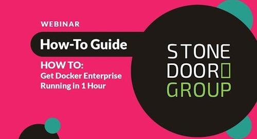 Webinar Recording: How to Get Docker Enterprise Running in an Hour