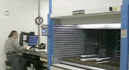 Remstar Vertical Lift Parts Shuttle | Maximizing Overhead Storage Space